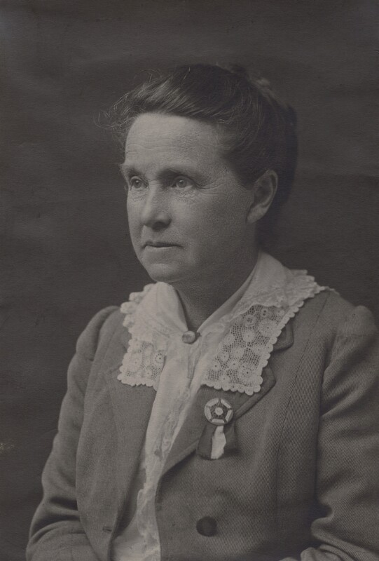 Dame Millicent Garrett Fawcett (née Garrett), by Unknown photographer, circa 1920 - NPG x15090 - © National Portrait Gallery, London