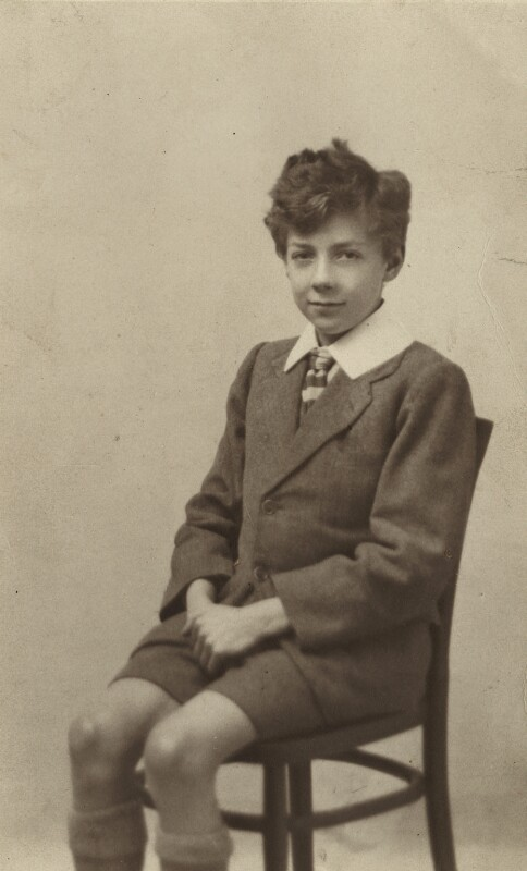 Benjamin Britten, by Unknown photographer, September 1923 - NPG x15178 - © National Portrait Gallery, London