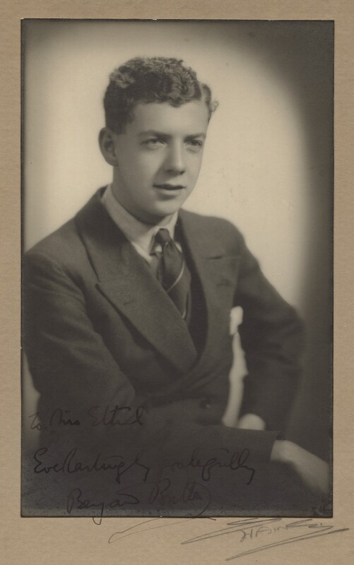 Benjamin Britten, by Frank Arthur Swaine, circa 1930 - NPG x15185 - © National Portrait Gallery, London