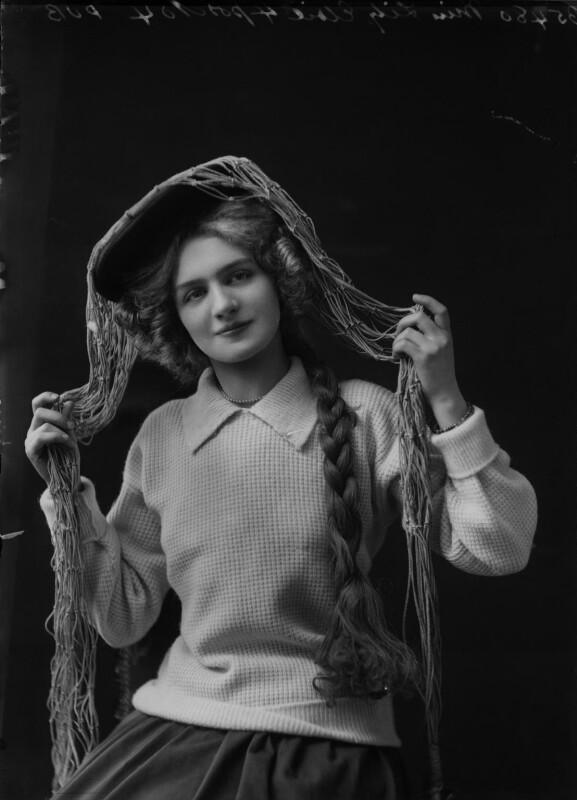 Lily Elsie (Mrs Bullough), by Bassano Ltd, circa 1905 - NPG x15362 - © National Portrait Gallery, London