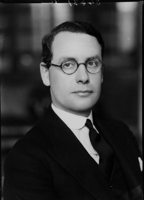 Malcolm John MacDonald, by Bassano Ltd, 2 June 1938 - NPG x15375 - © National Portrait Gallery, London