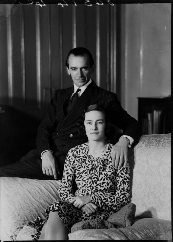 Eileen Laura Sargent (née Harding Horne); Malcolm Sargent, by Bassano Ltd, 22 June 1938 - NPG x15377 - © National Portrait Gallery, London