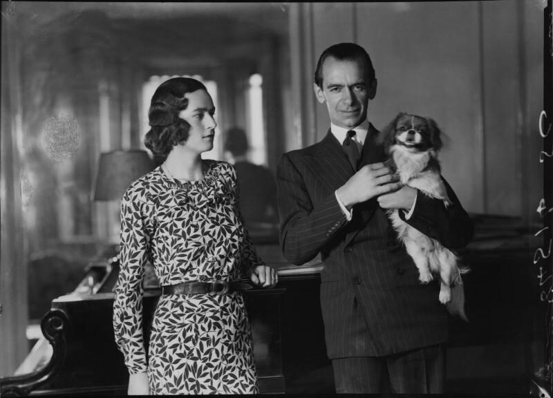 Eileen Laura Sargent (née Harding Horne); Malcolm Sargent, by Bassano Ltd, 22 June 1938 - NPG x15379 - © National Portrait Gallery, London