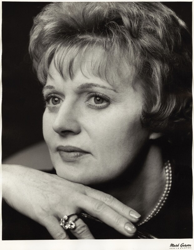 Dame Muriel Spark, by Mark Gerson, May 1963 - NPG x15448 - © Mark Gerson / National Portrait Gallery, London
