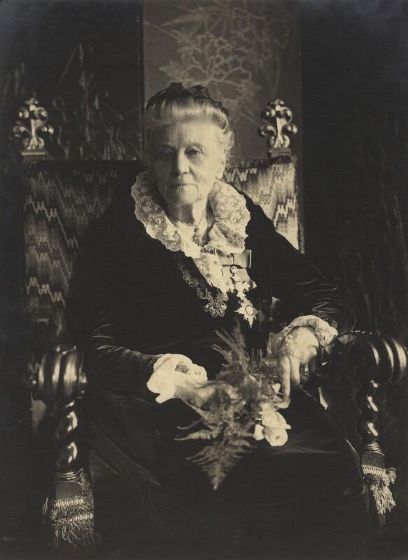 Dame Louisa Innes Lumsden, by Olive Edis, 1920s - NPG x15470 - © National Portrait Gallery, London