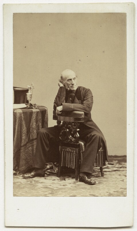 George Thomas Keppel, 6th Earl of Albemarle, by Disdéri, early 1860s - NPG x1553 - © National Portrait Gallery, London