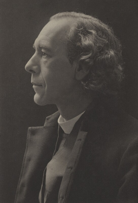 Joseph Armitage Robinson, by (Mary) Olive Edis (Mrs Galsworthy), 1900s - NPG x15554 - © National Portrait Gallery, London