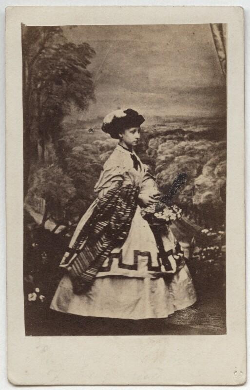 Princess Louise Caroline Alberta, Duchess of Argyll, by John Jabez Edwin Mayall, February 1861 - NPG x15570 - © National Portrait Gallery, London