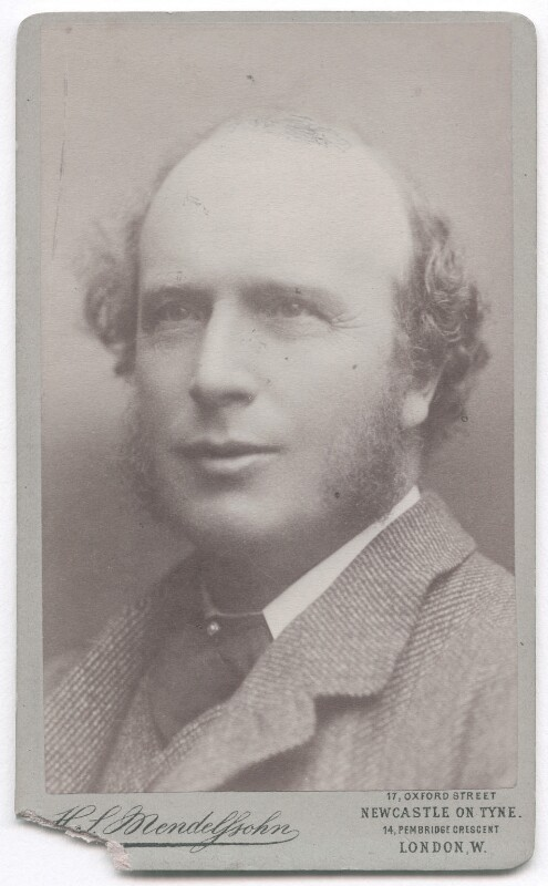 Thomas Hodgkin, by Hayman Seleg Mendelssohn, circa 1879 - NPG x15583 - © National Portrait Gallery, London