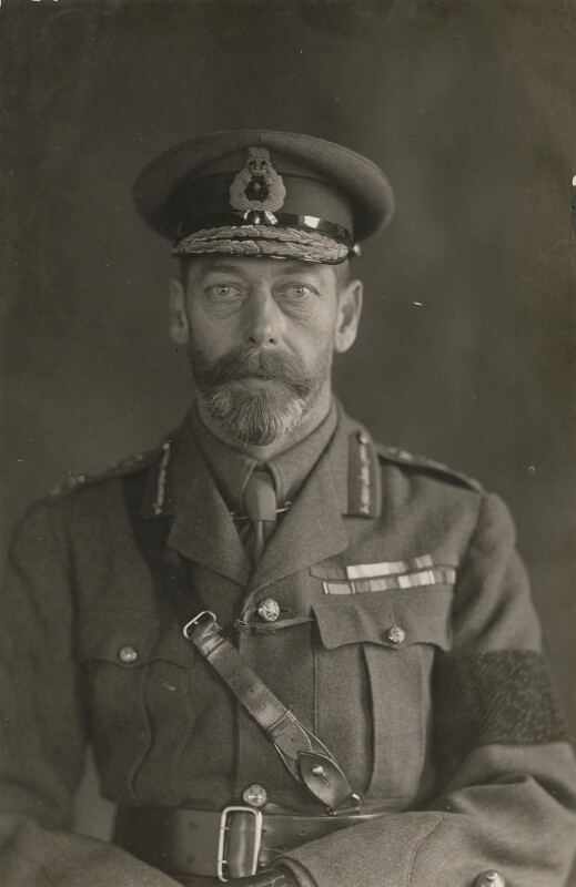 King George V, by Percy Lewis Pocock, for  W. & D. Downey,  - NPG x1577 - © National Portrait Gallery, London
