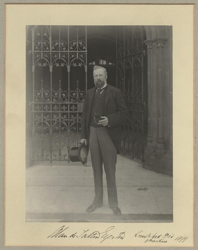 Alan de Tatton Egerton, 3rd Baron Egerton of Tatton, by Sir (John) Benjamin Stone, 1899 - NPG x15802 - © National Portrait Gallery, London