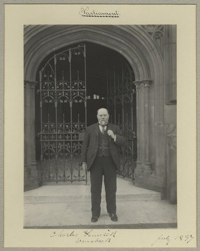 Charles Fenwick, by Sir (John) Benjamin Stone, July 1897 - NPG x15812 - © National Portrait Gallery, London