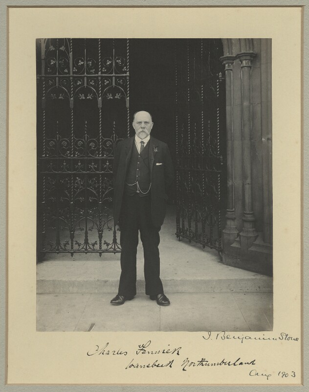Charles Fenwick, by Sir (John) Benjamin Stone, August 1903 - NPG x15813 - © National Portrait Gallery, London