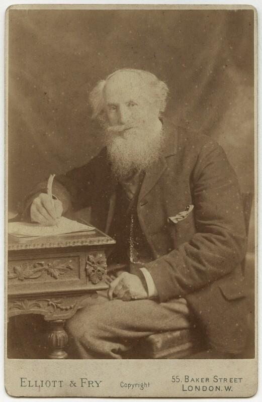 Frederick James Furnivall, by Elliott & Fry, circa 1900 - NPG x16304 - © National Portrait Gallery, London