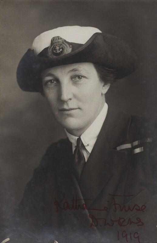 Dame Katharine Furse, by Elliott & Fry, 1919 - NPG x16310 - © National Portrait Gallery, London