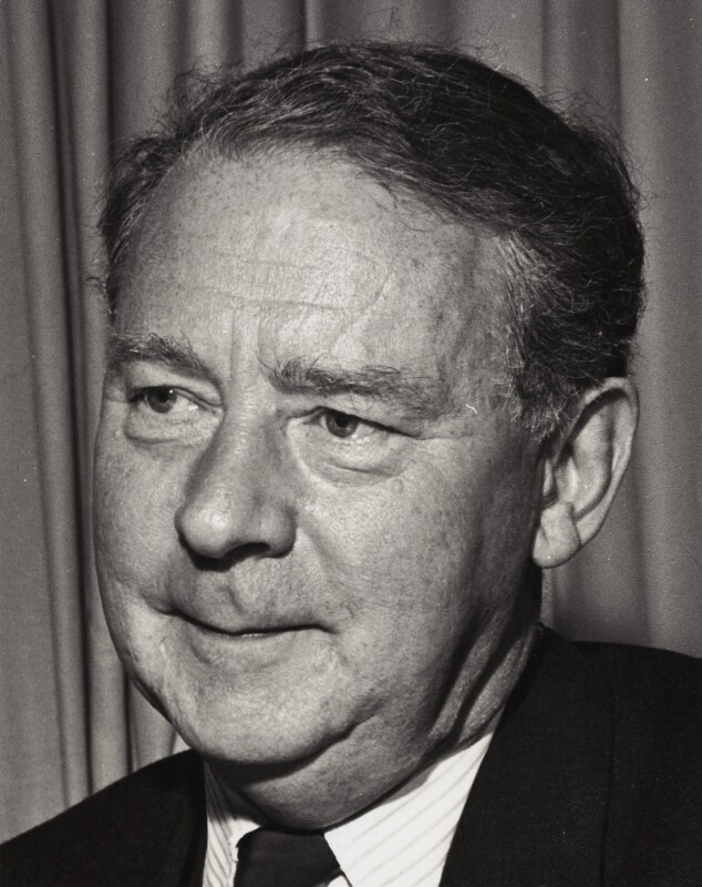 Hugh Todd Naylor Gaitskell, by COI Official Photograph, October 1961 - NPG x16312 - © National Portrait Gallery, London