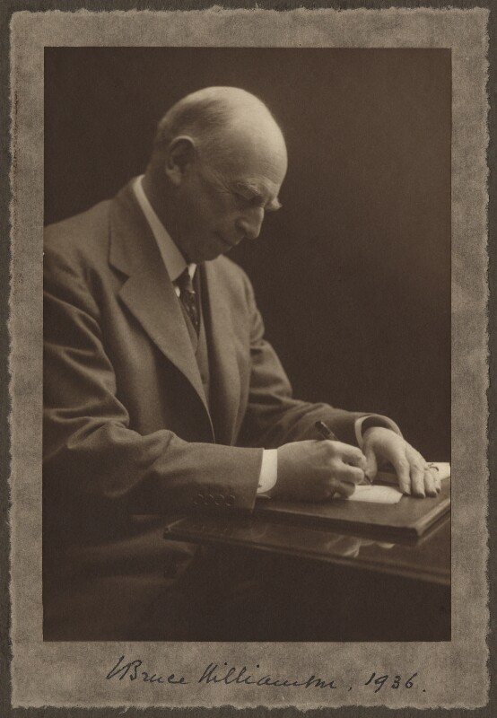 John Bruce Williamson, by Olive Edis, 1936 - NPG x16347 - © National Portrait Gallery, London
