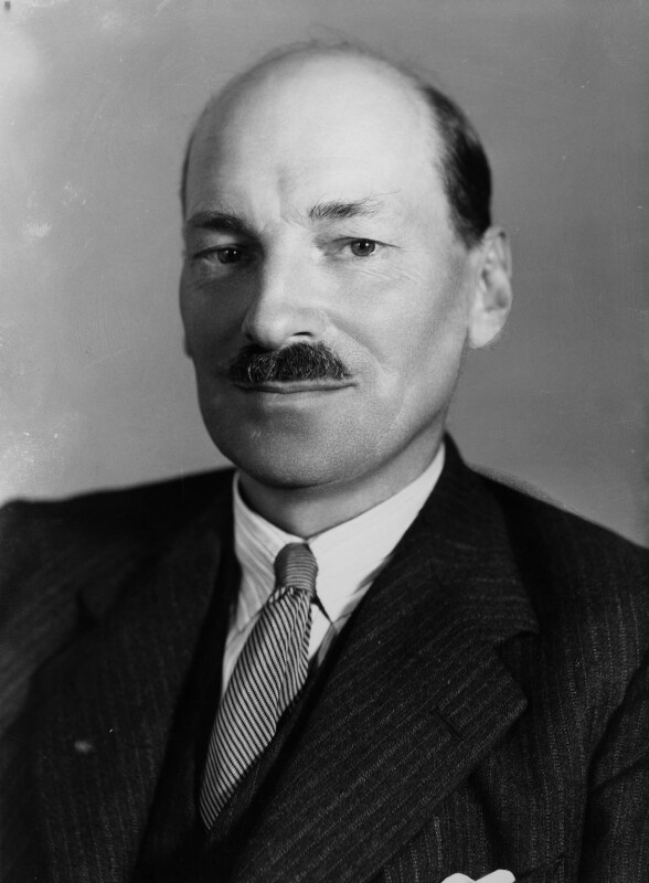 Clement Attlee, by Bassano Ltd, 13 September 1938 - NPG x16588 - © National Portrait Gallery, London