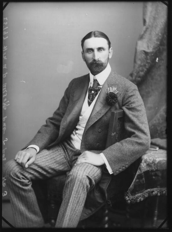 Hon. Alfred Percy Allsop, by Alexander Bassano, 1895 - NPG x1660 - © National Portrait Gallery, London