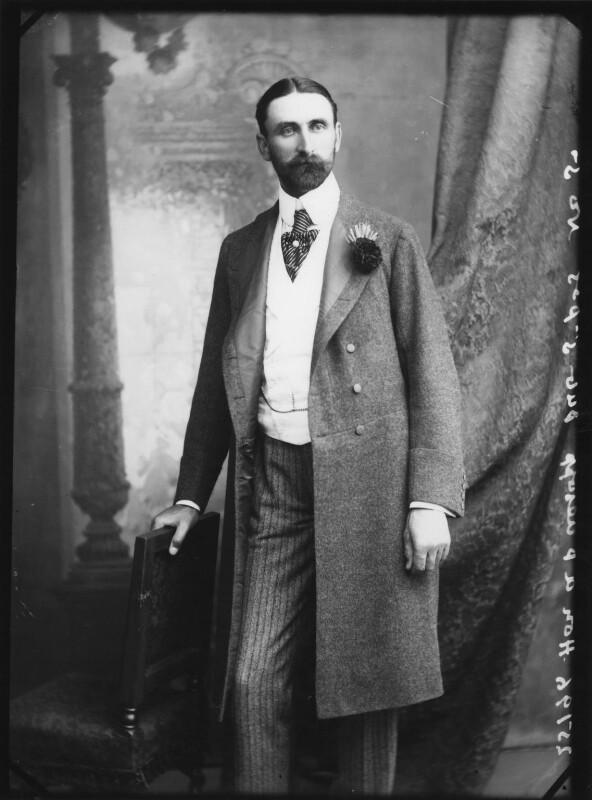 Hon. Alfred Percy Allsop, by Alexander Bassano, 1895 - NPG x1662 - © National Portrait Gallery, London