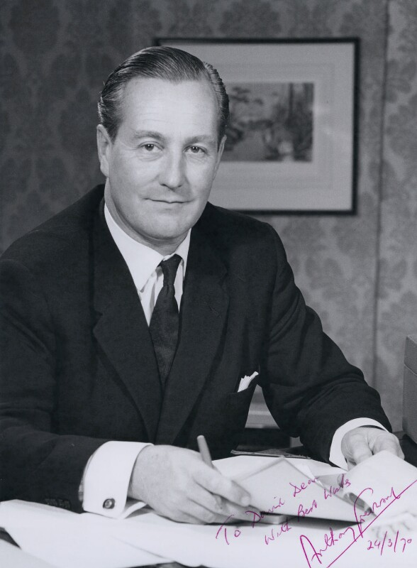 Arthur William James ('Anthony') Greenwood, Baron Greenwood of Rossendale, by COI Official Photograph, 1968 - NPG x16896 - © National Portrait Gallery, London