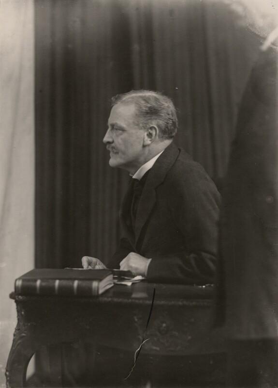Sir James Guthrie, by Walter Stoneman, 1919 - NPG x16948 - © National Portrait Gallery, London
