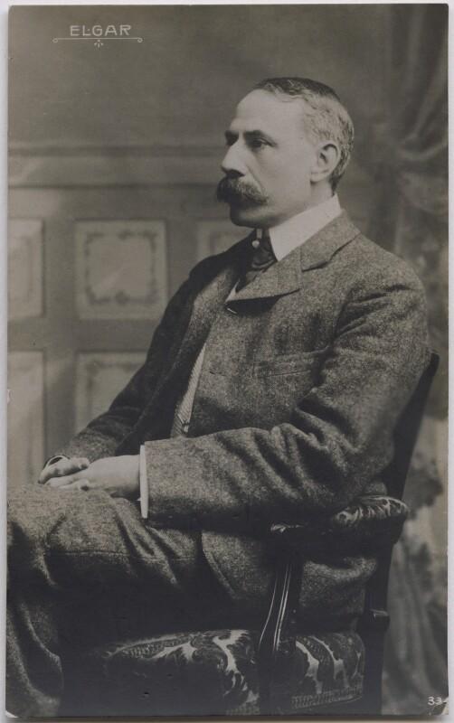 Sir Edward Elgar, Bt, published by Breitkopf & Hartel, 1900s-1910s - NPG x17025 - © National Portrait Gallery, London