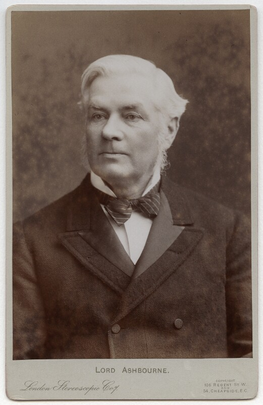 Edward Gibson, 1st Baron Ashbourne, by London Stereoscopic & Photographic Company, 1890s-early 1900s - NPG x17081 - © National Portrait Gallery, London