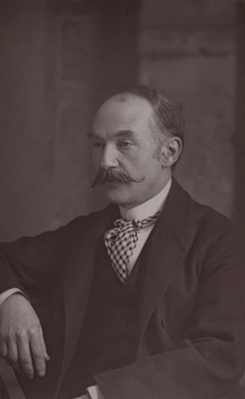 Thomas Hardy, by W. & D. Downey, 1894 - NPG x17360 - © National Portrait Gallery, London