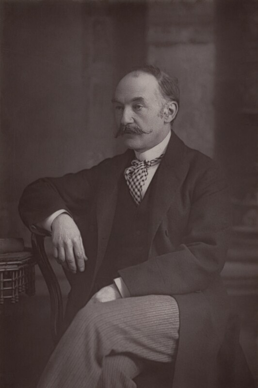 Thomas Hardy, by W. & D. Downey, published 1894 - NPG x17362 - © National Portrait Gallery, London