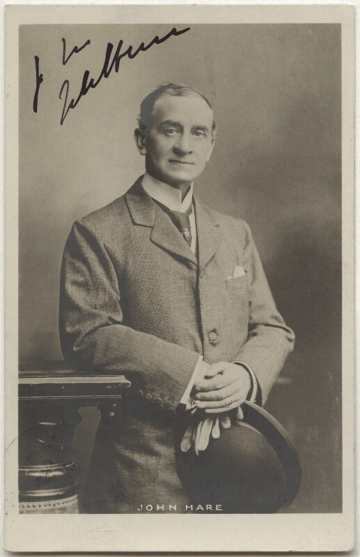 Sir John Hare, by Unknown photographer, circa 1904 - NPG x17377 - © National Portrait Gallery, London