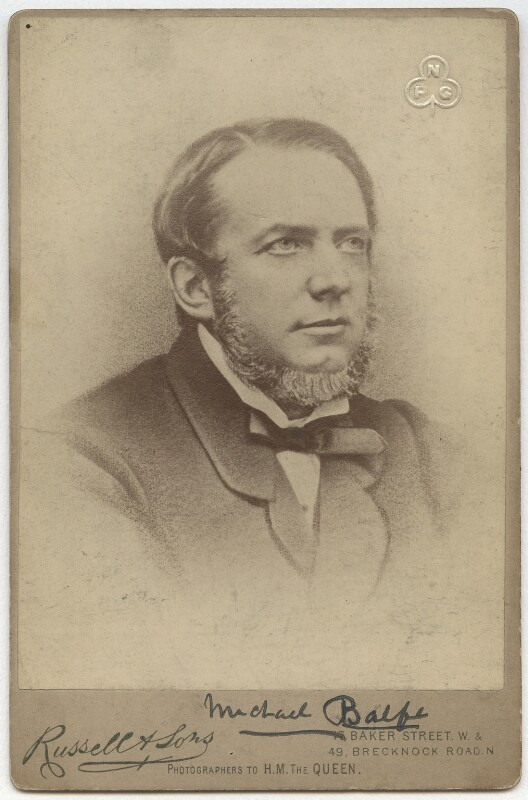 Michael William Balfe, by James Russell & Sons, after  Unknown artist, after  Window & Grove, late 1880s - NPG x176 - © National Portrait Gallery, London