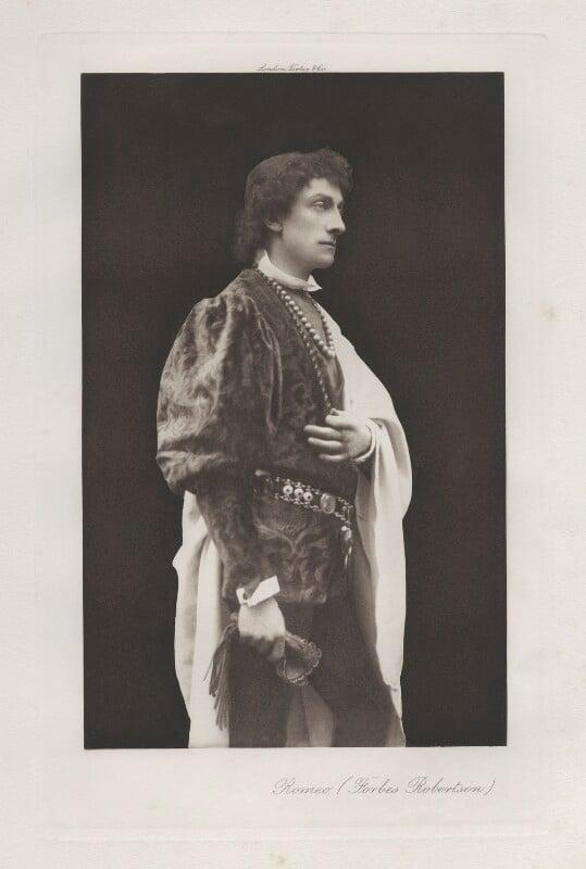 Sir Johnston Forbes-Robertson as Romeo in 'Romeo & Juliet', by Hayman Seleg Mendelssohn, published by  Virtue & Co, 1895 - NPG x17965 - © National Portrait Gallery, London