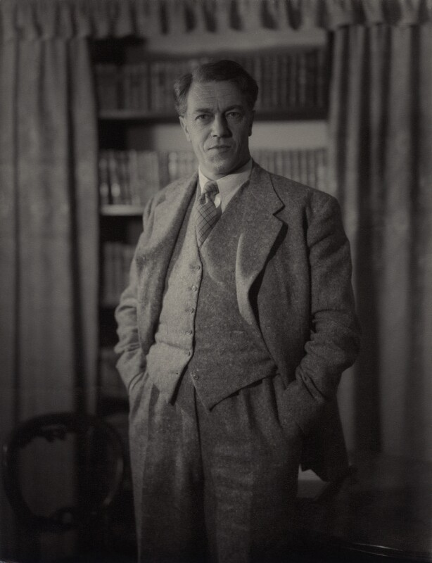 Cecil Day-Lewis, by Howard Coster, 1954 - NPG x1807 - © National Portrait Gallery, London