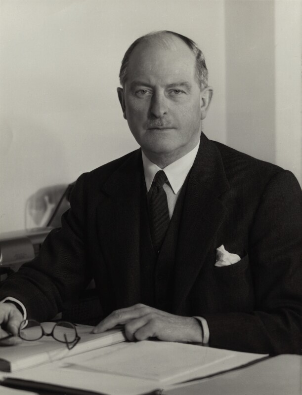Oliver H. Frost, by Howard Coster, 1956 - NPG x1841 - © National Portrait Gallery, London
