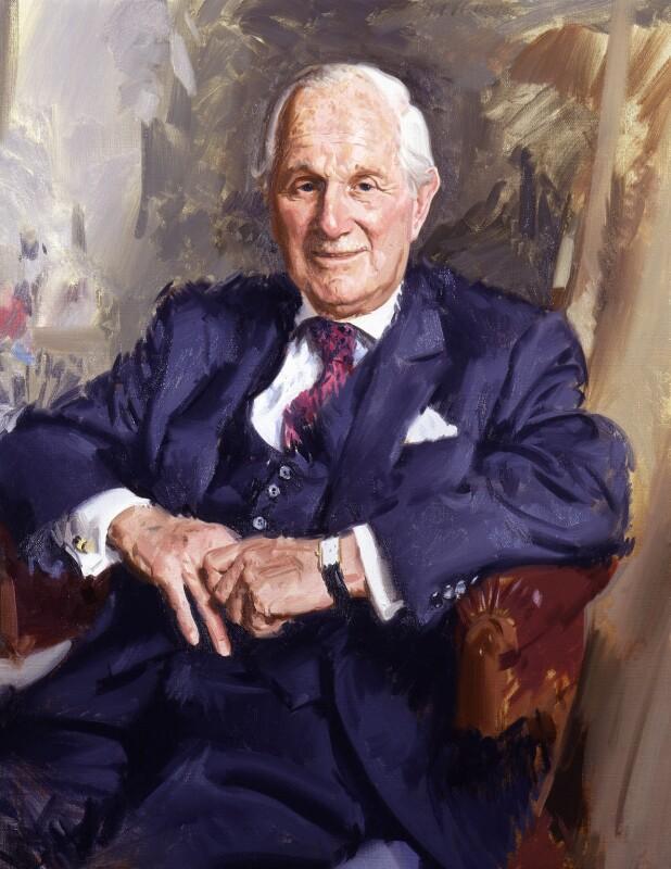 Leonard Gordon Wolfson, Lord Wolfson, by Andrew Festing, 2000 - NPG 6529 - © National Portrait Gallery, London