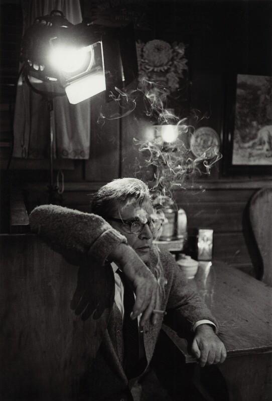 Richard Burton, by Bob Willoughby,  - NPG x18492 - © Bob Willoughby