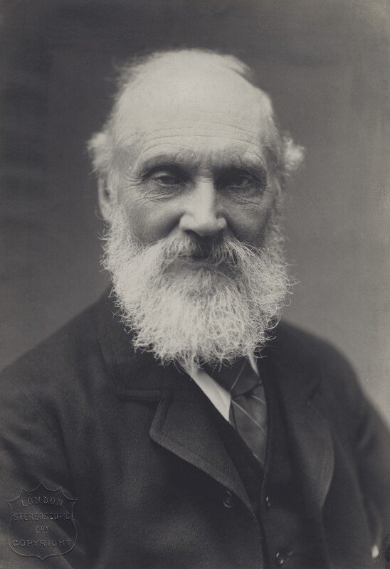 William Thomson, Baron Kelvin, by London Stereoscopic & Photographic Company, circa 1900 - NPG x18984 - © National Portrait Gallery, London