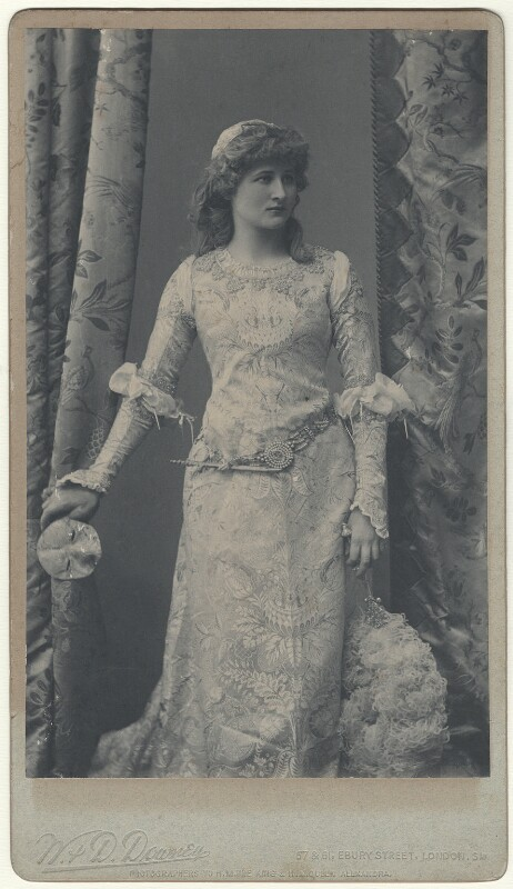 Mary Anderson (Mrs de Navarro) as Juliet in 'Romeo and Juliet', by W. & D. Downey, circa 1884 - NPG x19001 - © National Portrait Gallery, London