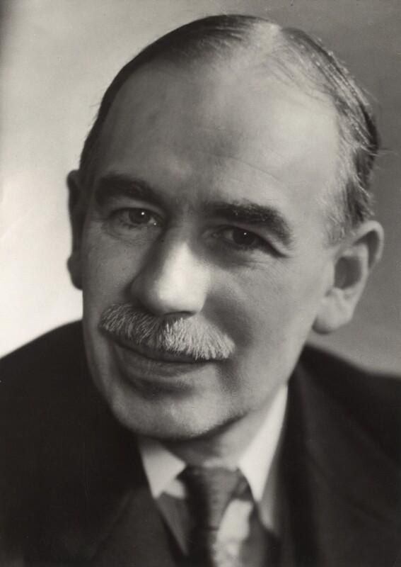 John Maynard Keynes, Baron Keynes, by Ramsey & Muspratt, 1937 - NPG x19131 - © Peter Lofts Photography / National Portrait Gallery, London