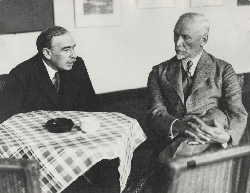 Jan Christian Smuts; John Maynard Keynes, Baron Keynes, by Unknown photographer, 1933 - NPG x19133 - © National Portrait Gallery, London