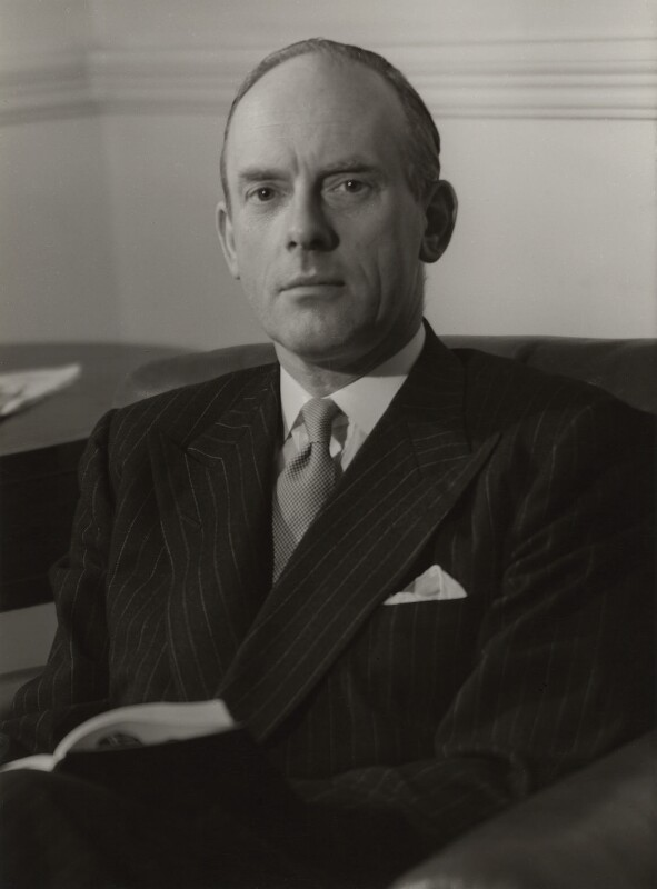 John Adrian Hope, 1st Baron Glendevon, by Howard Coster, 1956 - NPG x1923 - © National Portrait Gallery, London