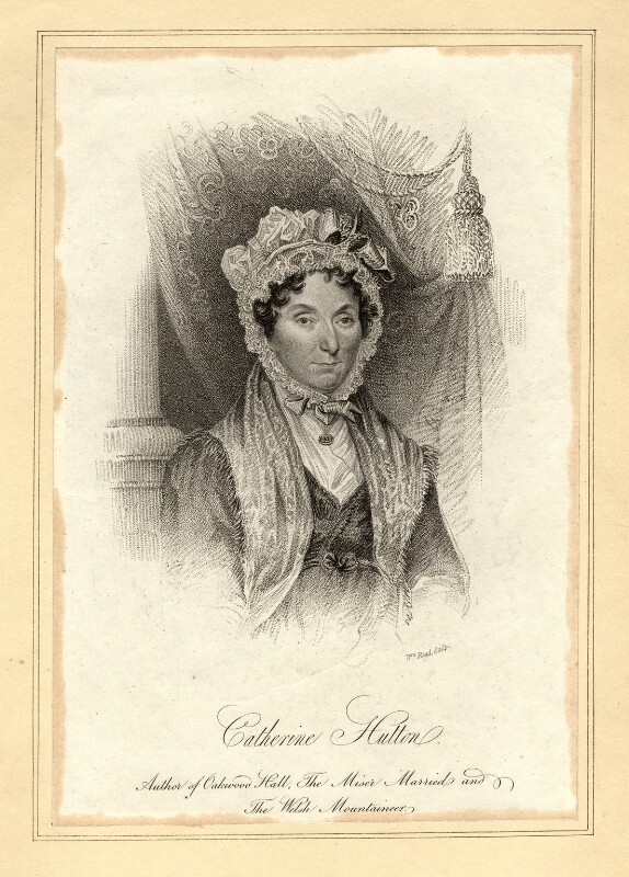 Catherine Hutton, by William Read, published 1824 - NPG D10560 - © National Portrait Gallery, London