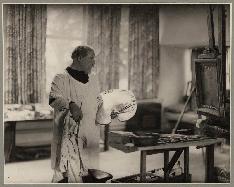 Augustus John, by Howard Coster, 1937 - NPG x1939 - © National Portrait Gallery, London