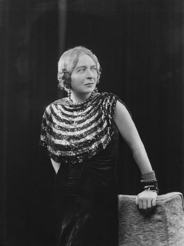 Laura Knight, by Bassano Ltd, 20 February 1936 - NPG x19413 - © National Portrait Gallery, London