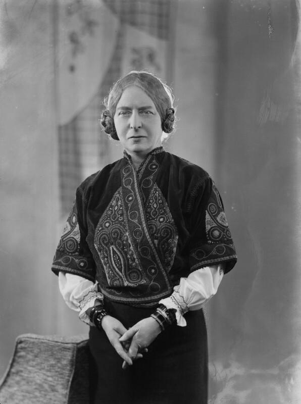 Laura Knight, by Bassano Ltd, 20 February 1936 - NPG x19414 - © National Portrait Gallery, London