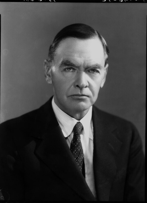 Sir Leonard Woolley, by Bassano Ltd, 18 June 1938 - NPG x19441 - © National Portrait Gallery, London