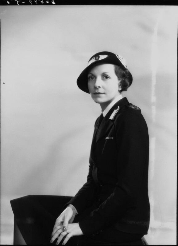 Edwina Cynthia Annette (née Ashley), Countess Mountbatten of Burma, by Bassano Ltd, 2 May 1940 - NPG x19456 - © National Portrait Gallery, London