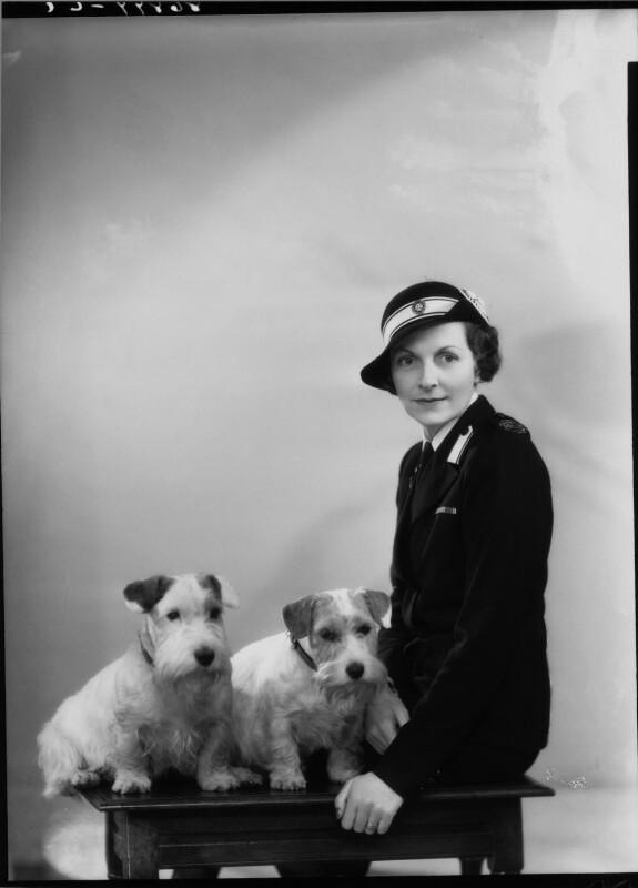 Edwina Cynthia Annette (née Ashley), Countess Mountbatten of Burma, by Bassano Ltd, 2 May 1940 - NPG x19457 - © National Portrait Gallery, London