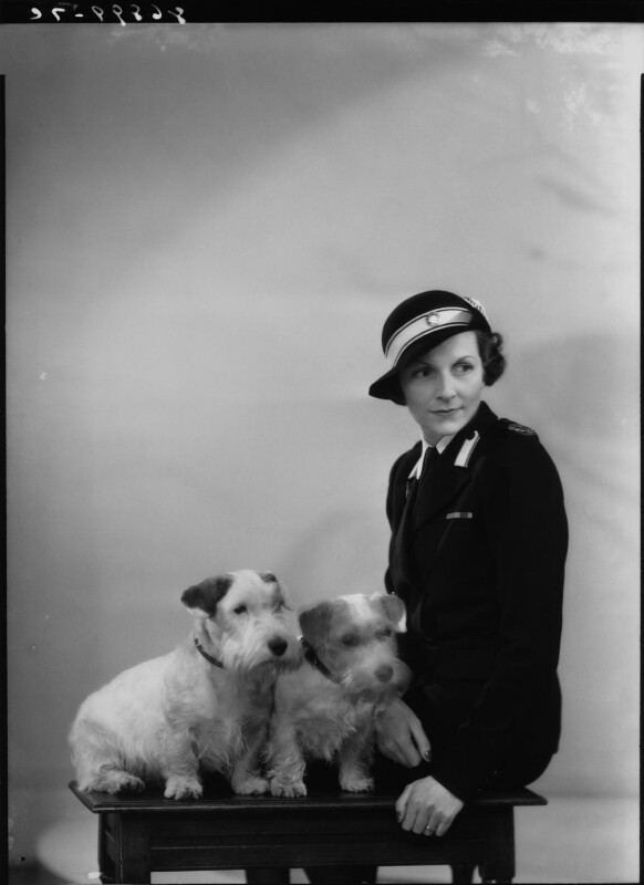 Edwina Cynthia Annette (née Ashley), Countess Mountbatten of Burma, by Bassano Ltd, 2 May 1940 - NPG x19458 - © National Portrait Gallery, London
